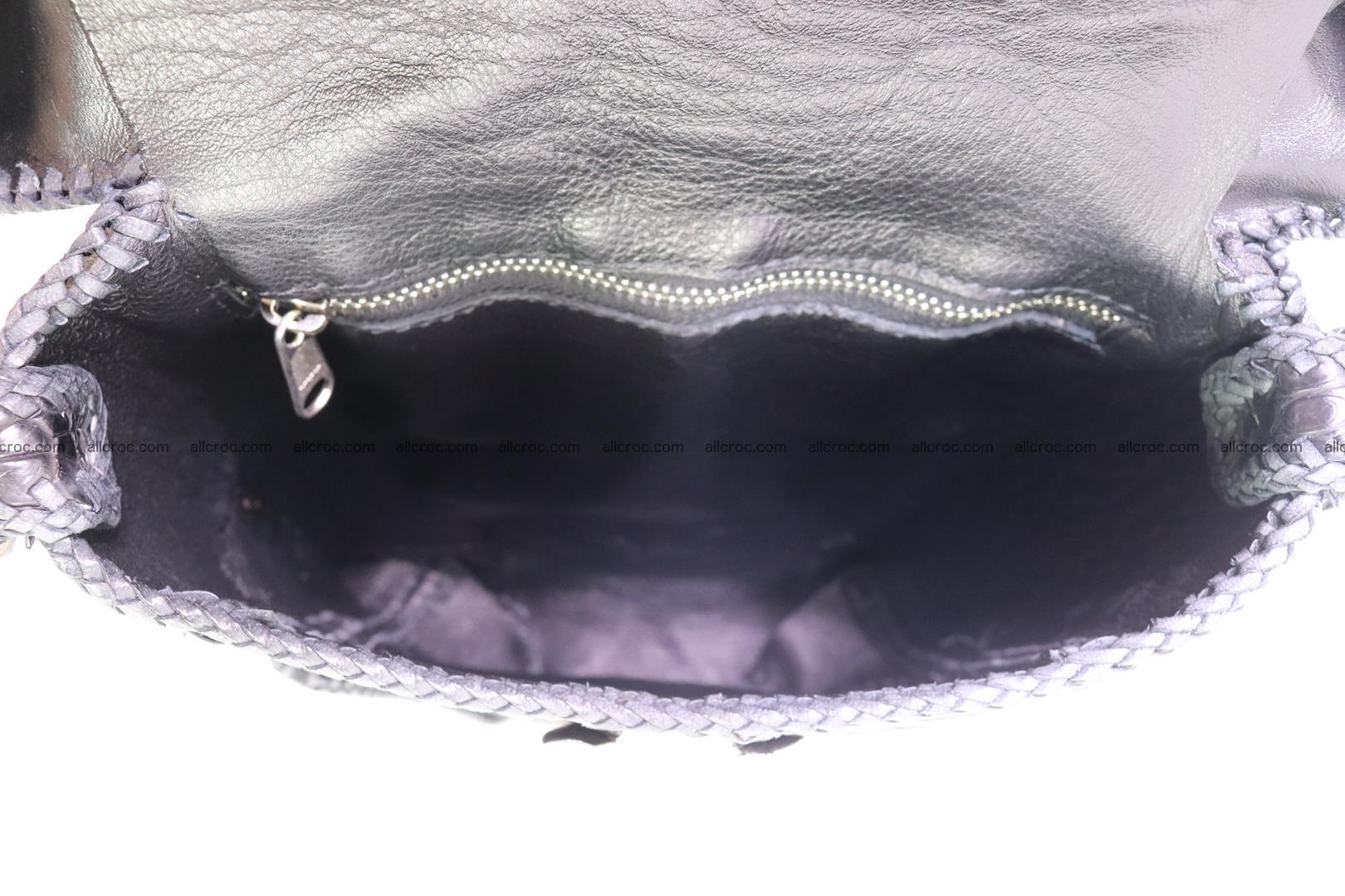 Crocodile skin bag 362 Foto 15