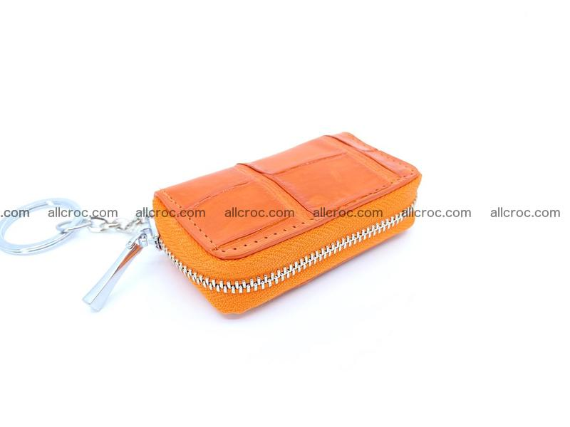 Crocodile skin car key case 1206