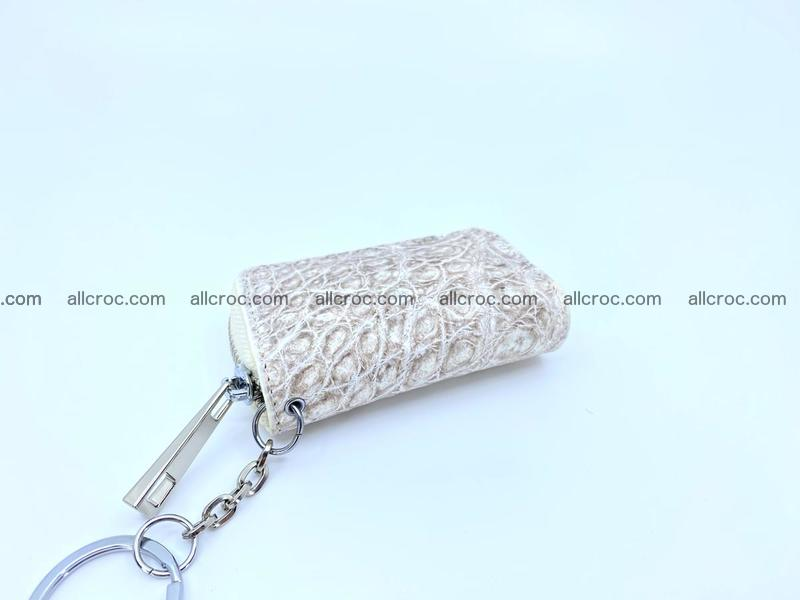 Crocodile skin car key case 1207