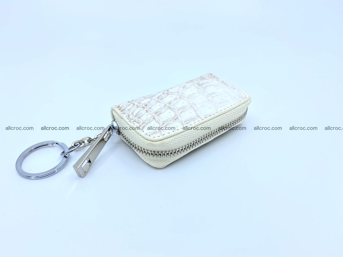 Crocodile skin car key case 1207 Foto 0