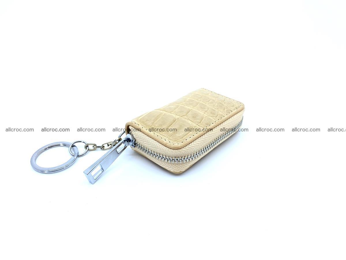 Crocodile skin car key case 1208 Foto 0