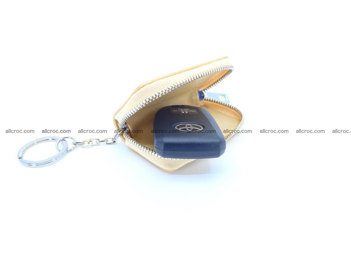 Crocodile skin car key case 1208 Foto 1