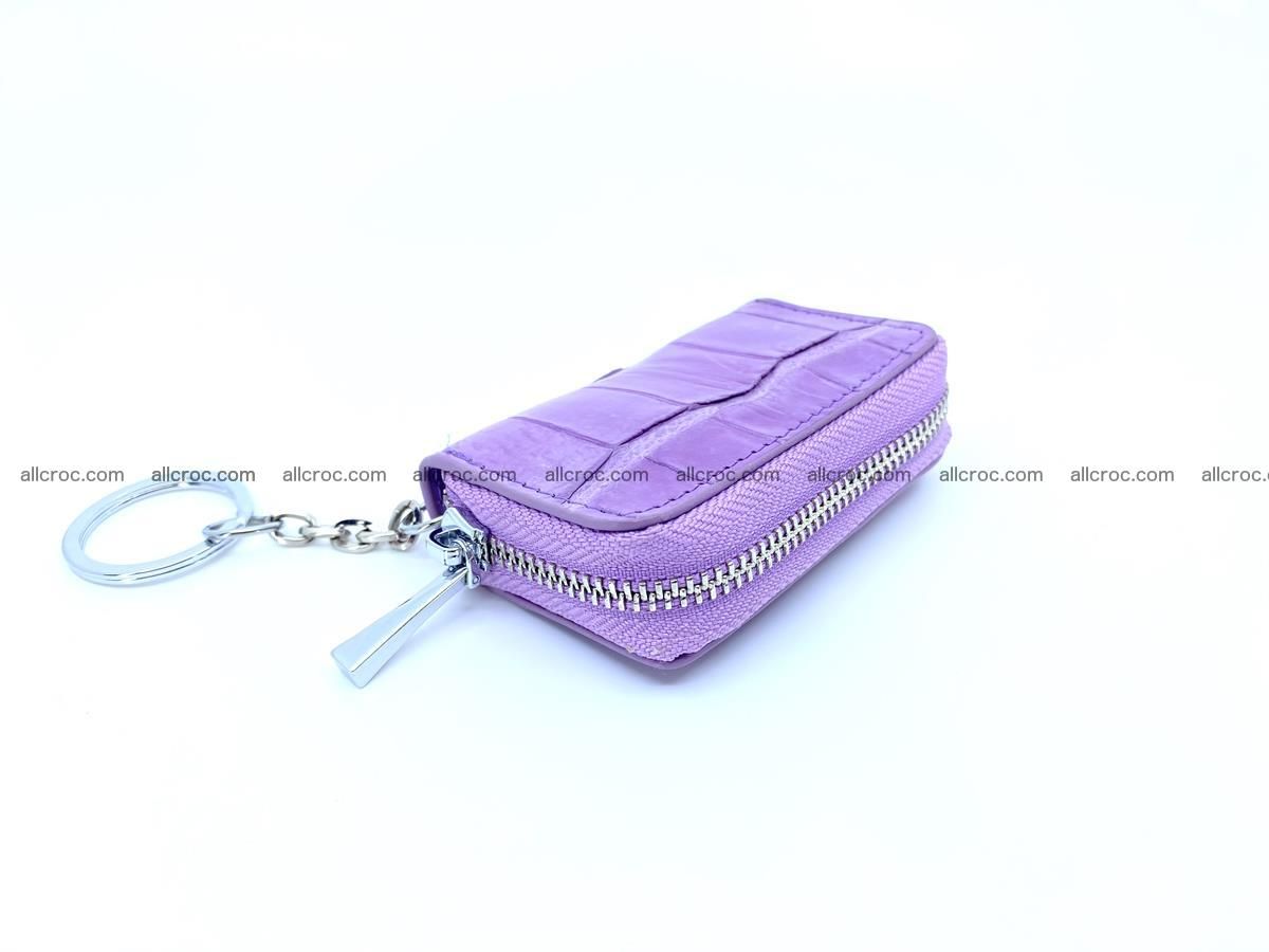 Crocodile skin car key case 1209 Foto 0