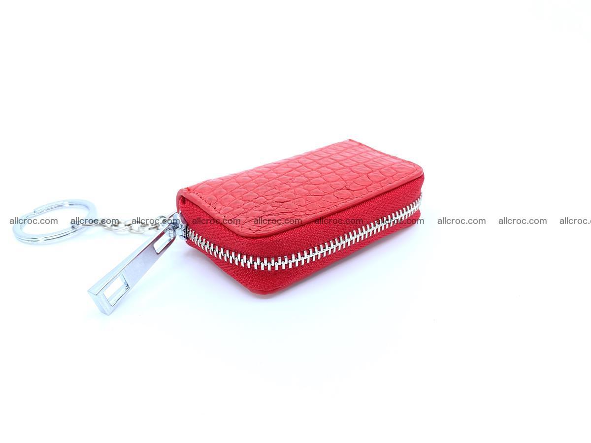 Crocodile skin car key case 1212 Foto 0