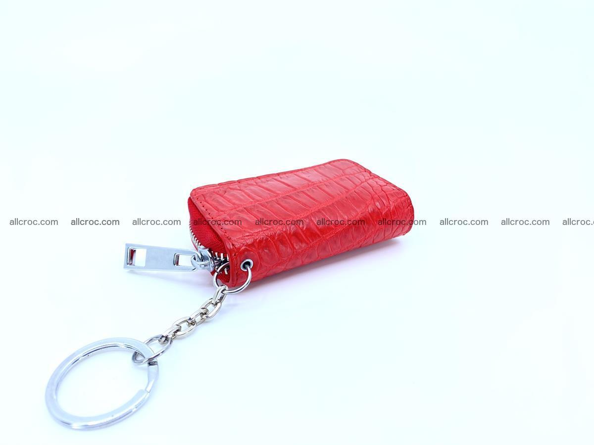 Crocodile skin car key case 1212 Foto 2