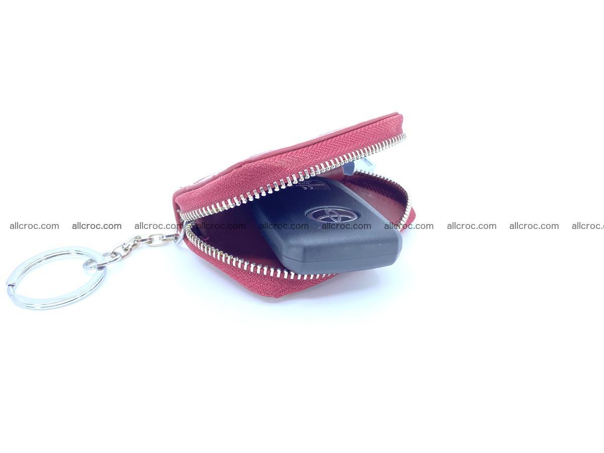 Crocodile skin car key case 1213 Foto 1
