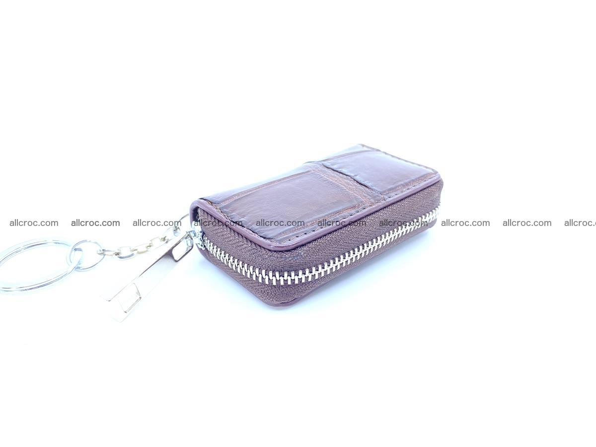 Crocodile skin car key case 1216 Foto 0