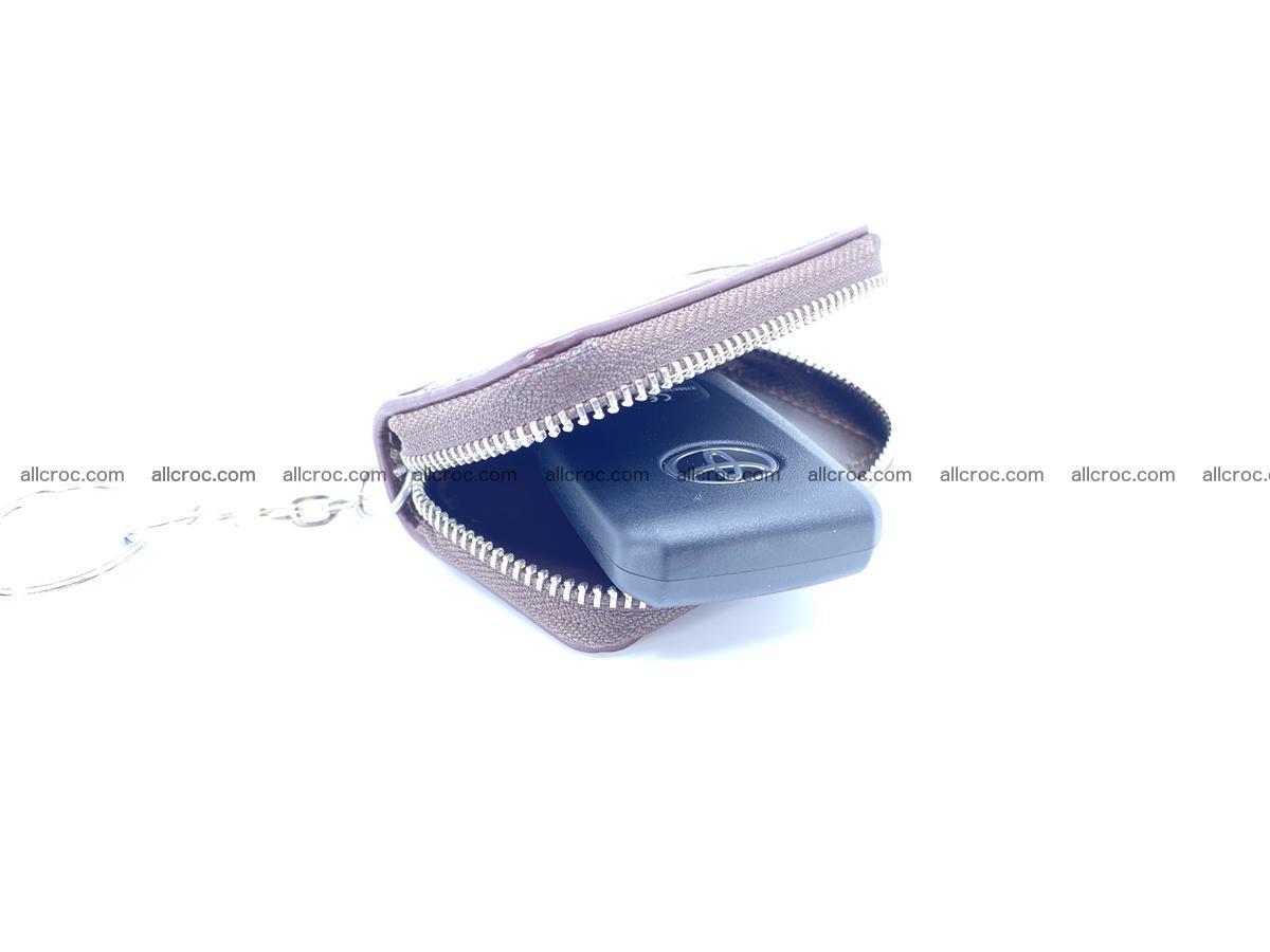 Crocodile skin car key case 1216 Foto 1