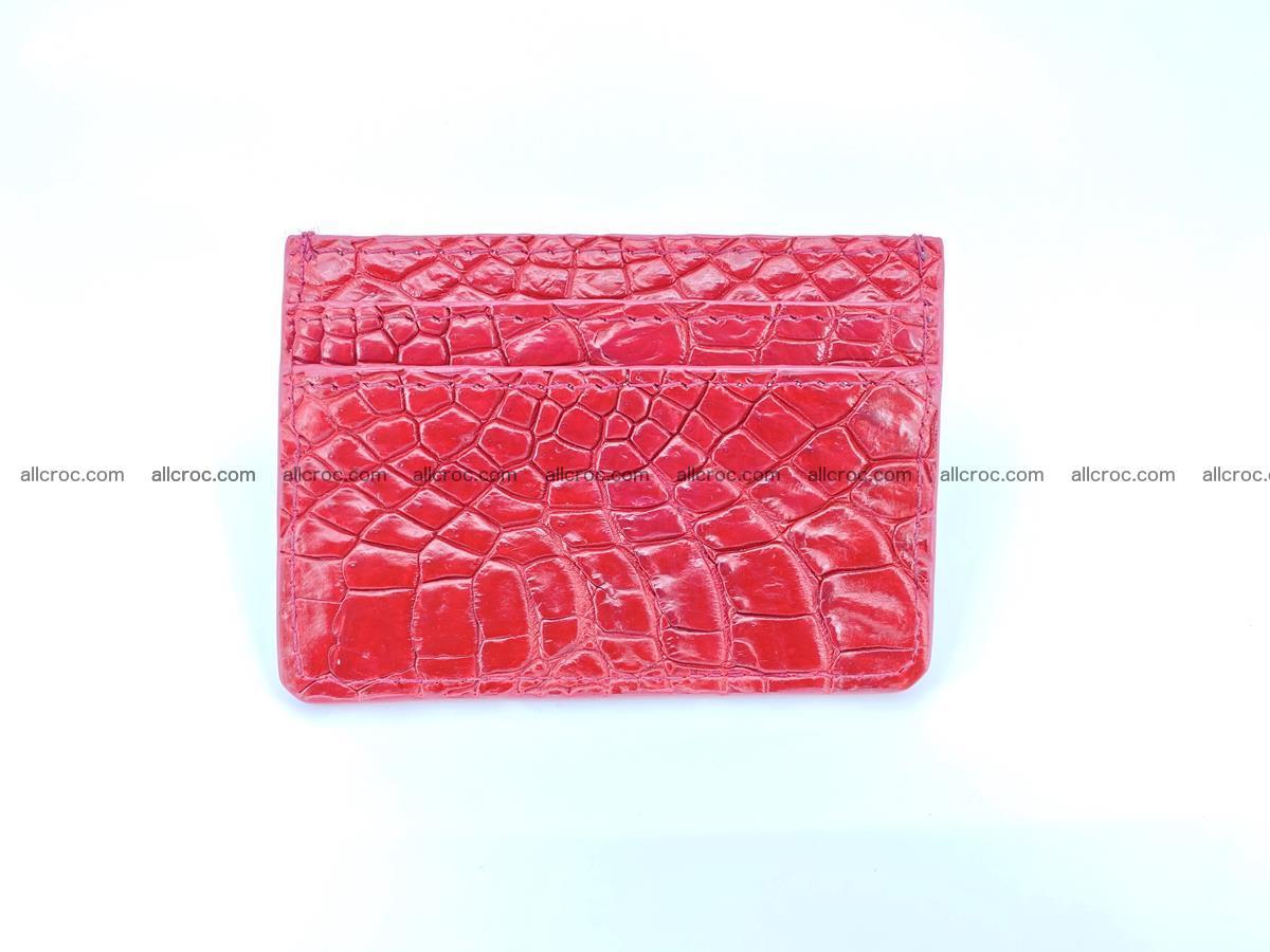 crocodile skin card holder 992 Foto 2