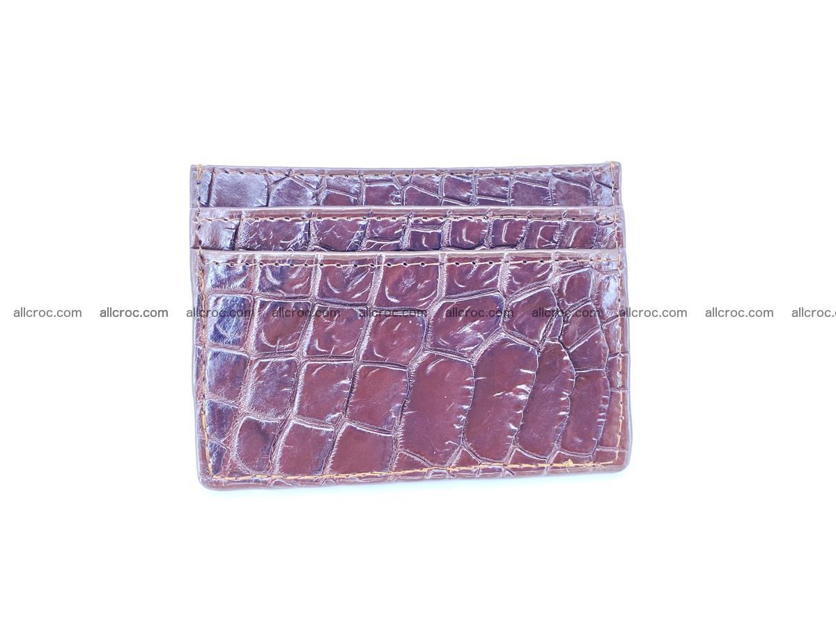 crocodile skin card holder 373 Foto 1
