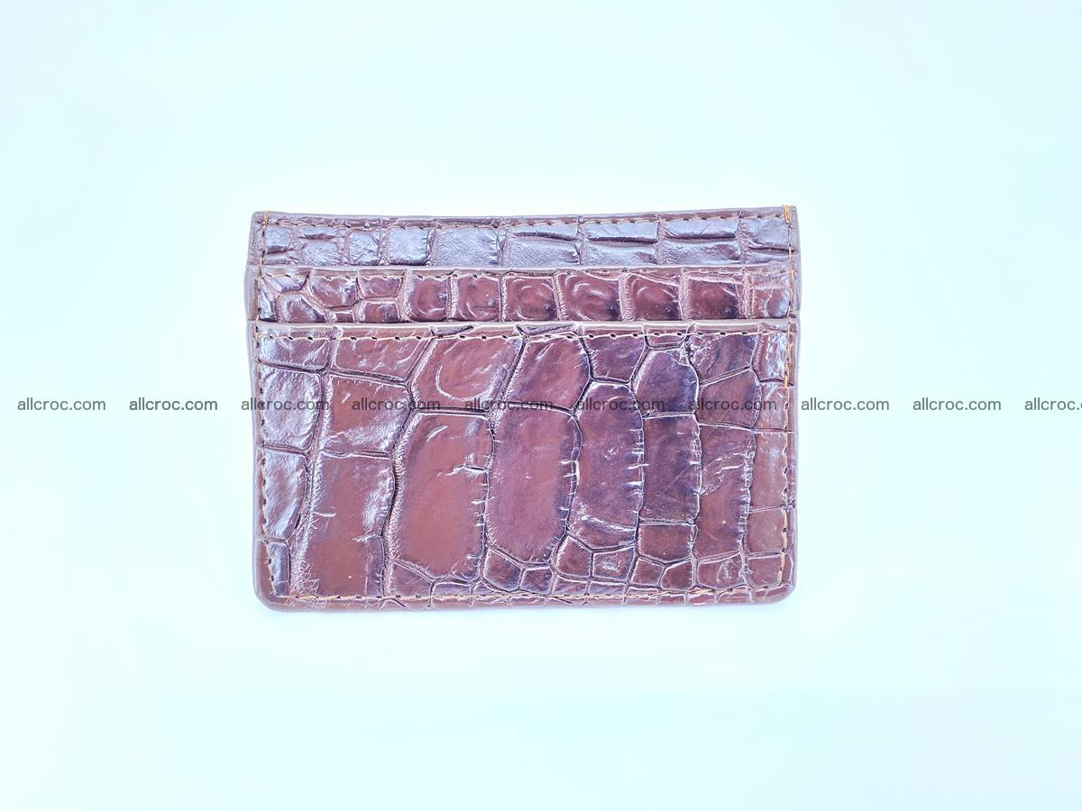 crocodile skin card holder 373 Foto 2