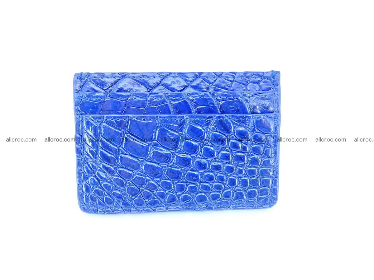 crocodile card holder 371 Foto 3