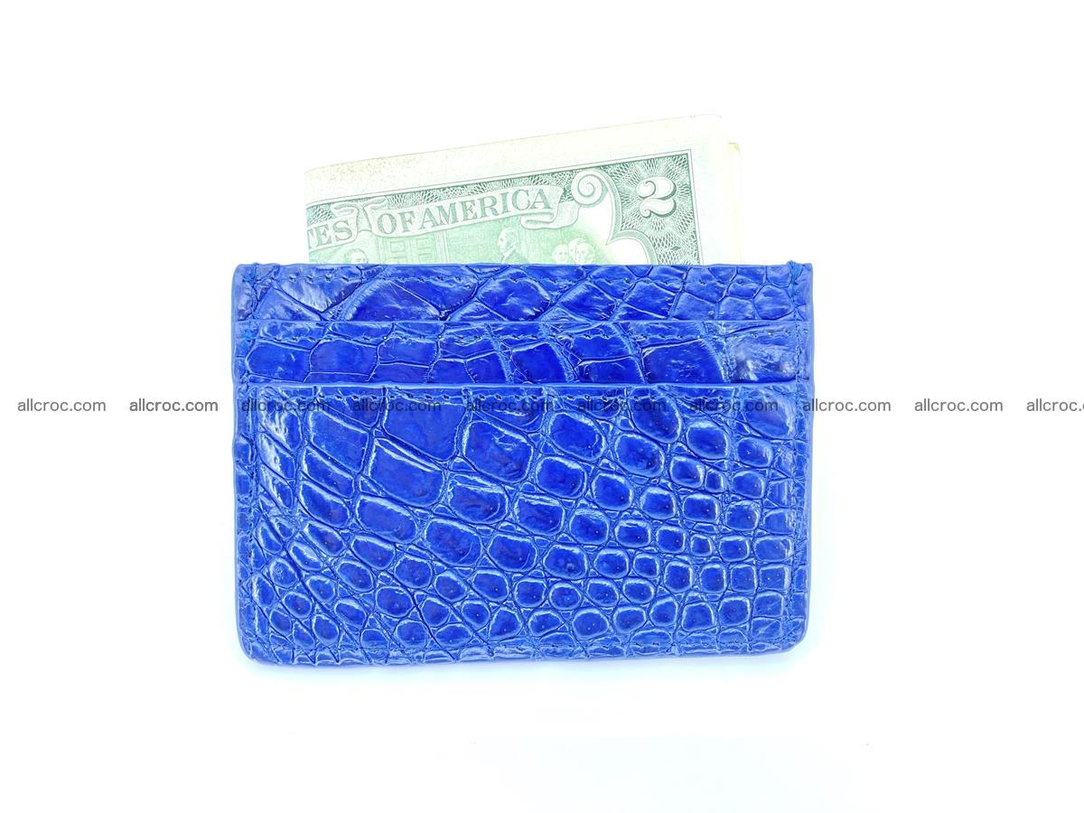 crocodile card holder 371 Foto 2