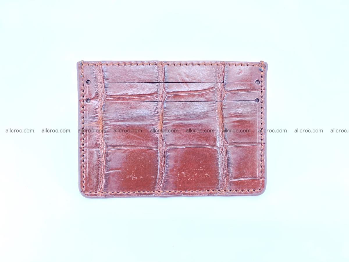 crocodile skin card holder 521 Foto 1
