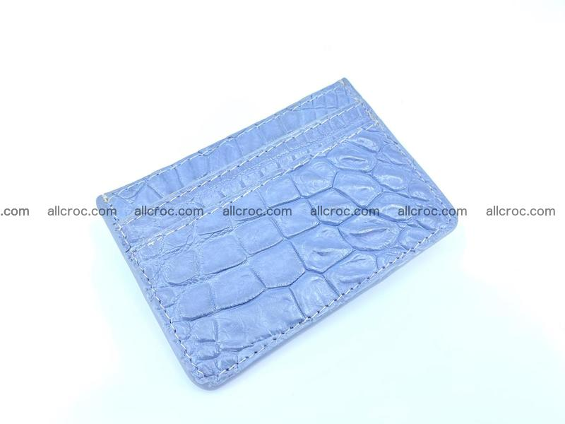 crocodile skin card holder 999