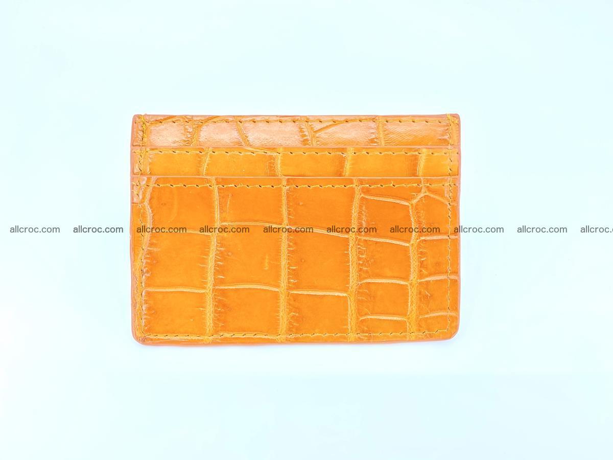 crocodile skin card holder 1000 Foto 1