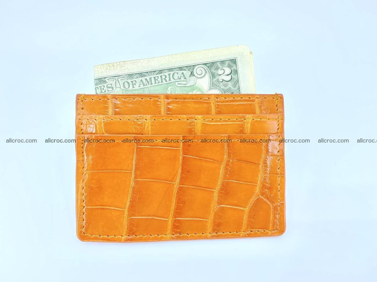 crocodile skin card holder 1000 Foto 2