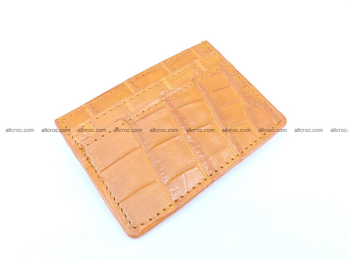 crocodile skin card holder 1000 Foto 0