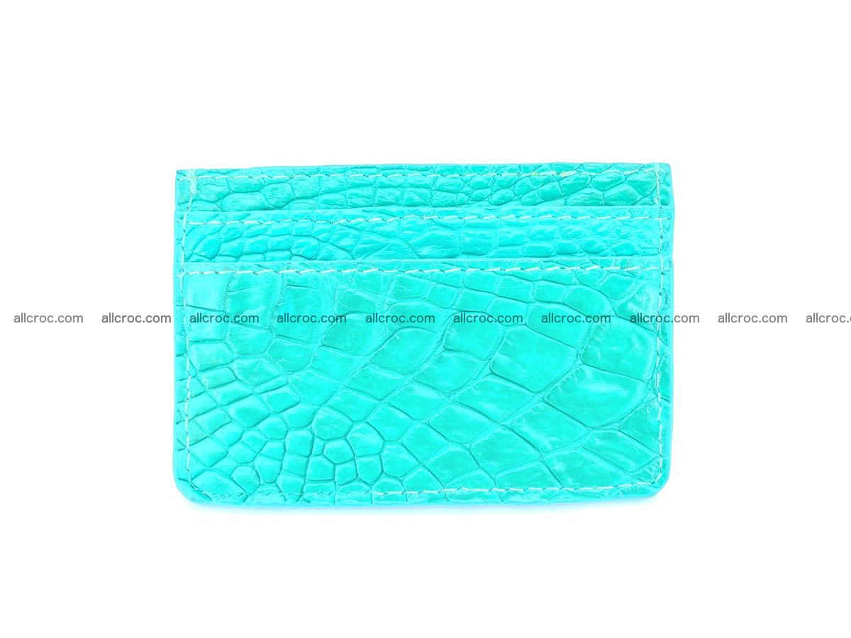 crocodile skin card holder 990 Foto 3