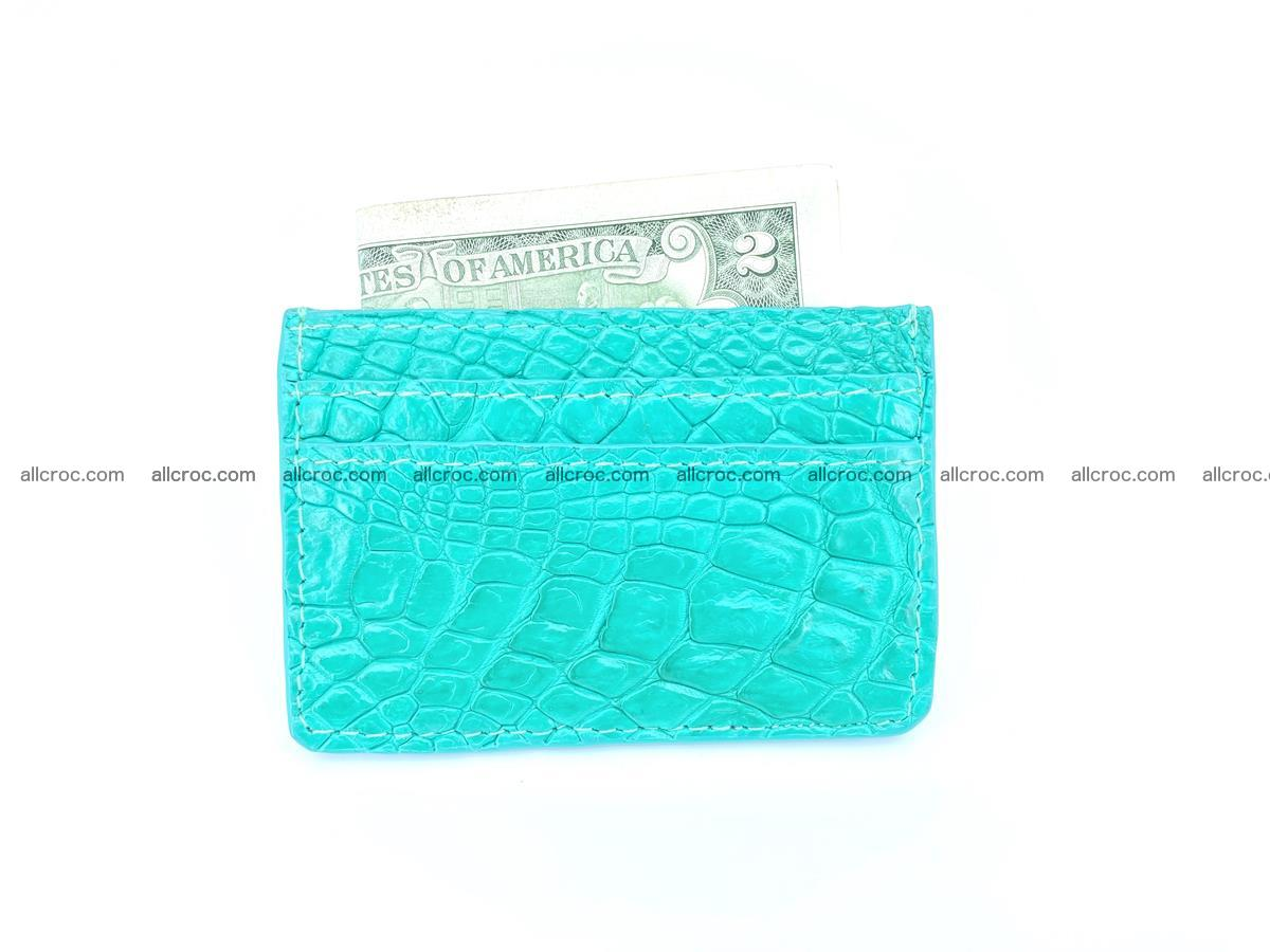 crocodile skin card holder 990 Foto 2