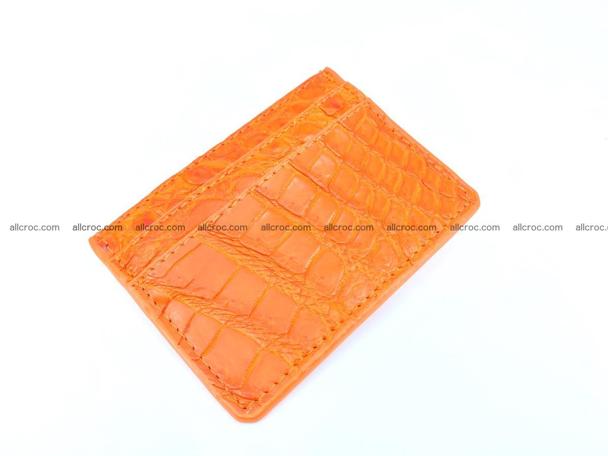 crocodile skin card holder 997 Foto 0