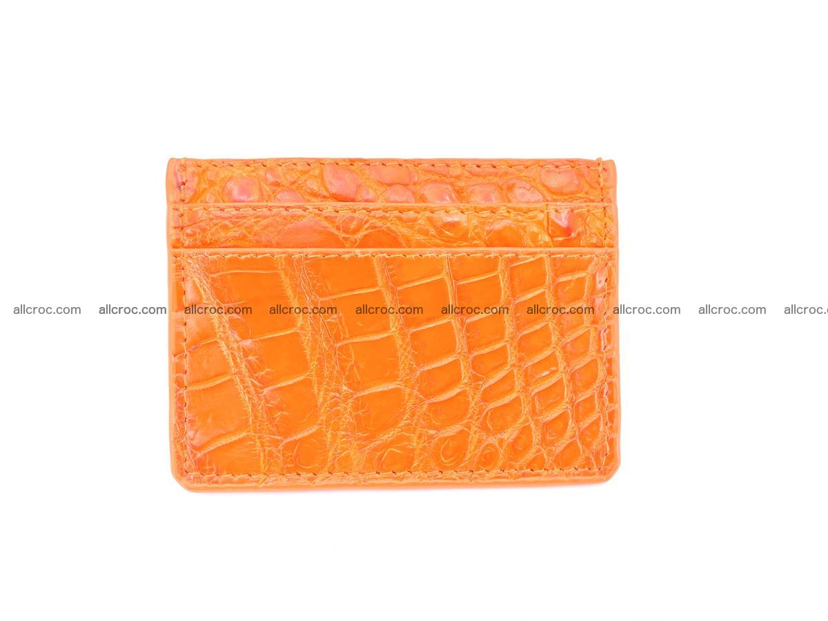 crocodile skin card holder 997 Foto 1