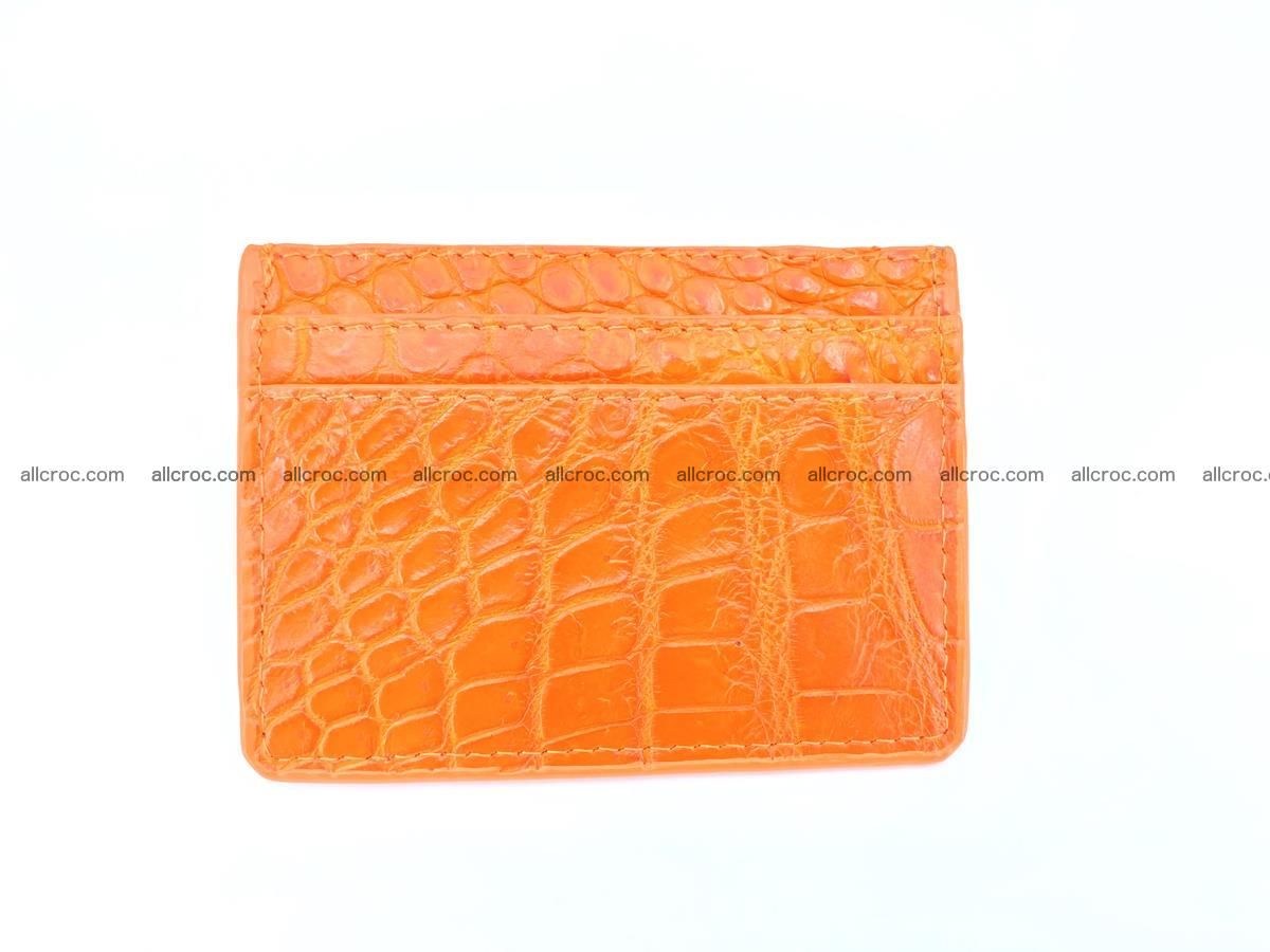crocodile skin card holder 997 Foto 2