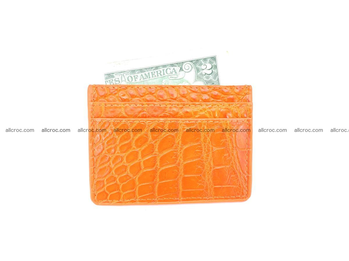 crocodile skin card holder 997 Foto 3