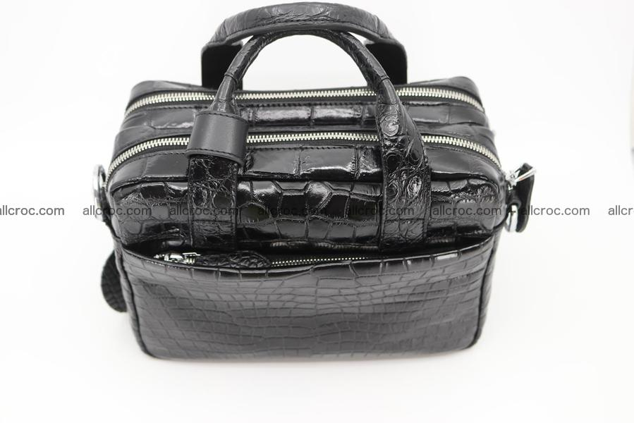 Crocodile skin handbag 1262