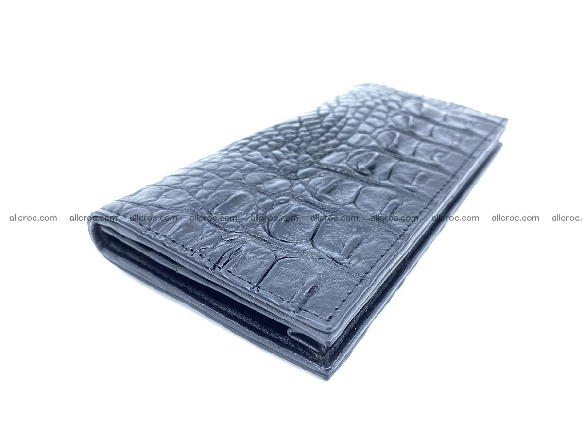 Crocodile skin long wallet bifold 485 Foto 0