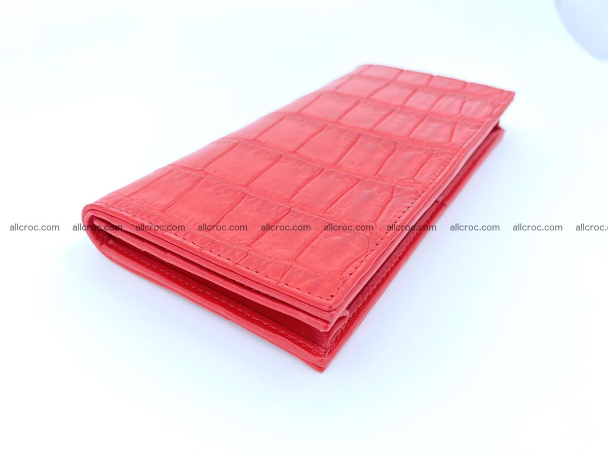 Crocodile skin wallet bifold 492 Foto 0