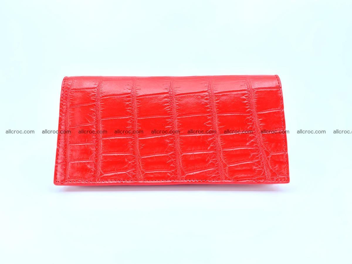 Crocodile skin wallet bifold 492 Foto 1