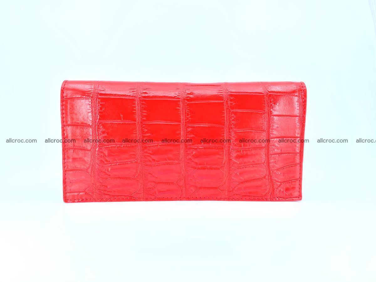 Crocodile skin wallet bifold 492 Foto 2