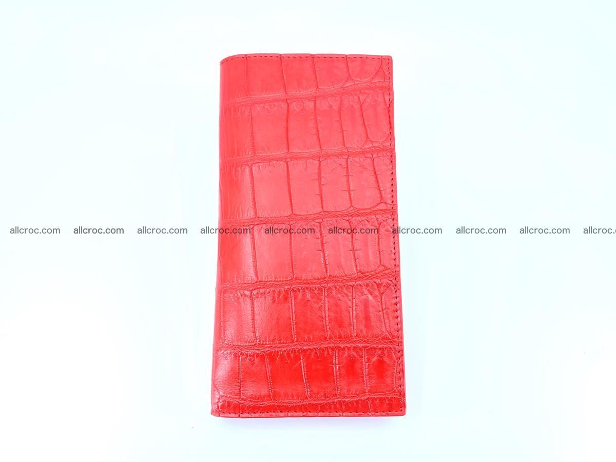 Crocodile skin wallet bifold 492 Foto 6