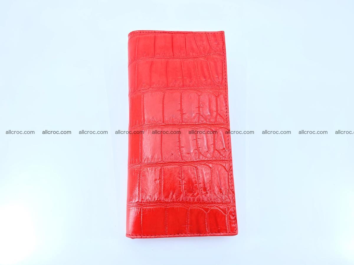 Crocodile skin wallet bifold 492 Foto 7