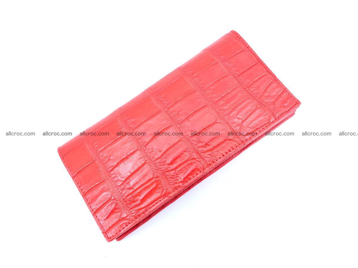 Crocodile skin wallet bifold 492 Foto 4