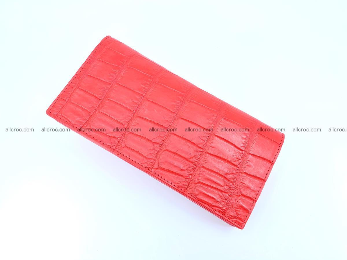 Crocodile skin wallet bifold 492 Foto 5