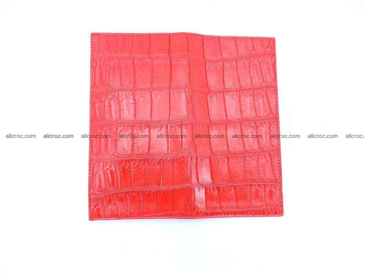 Crocodile skin wallet bifold 492 Foto 8