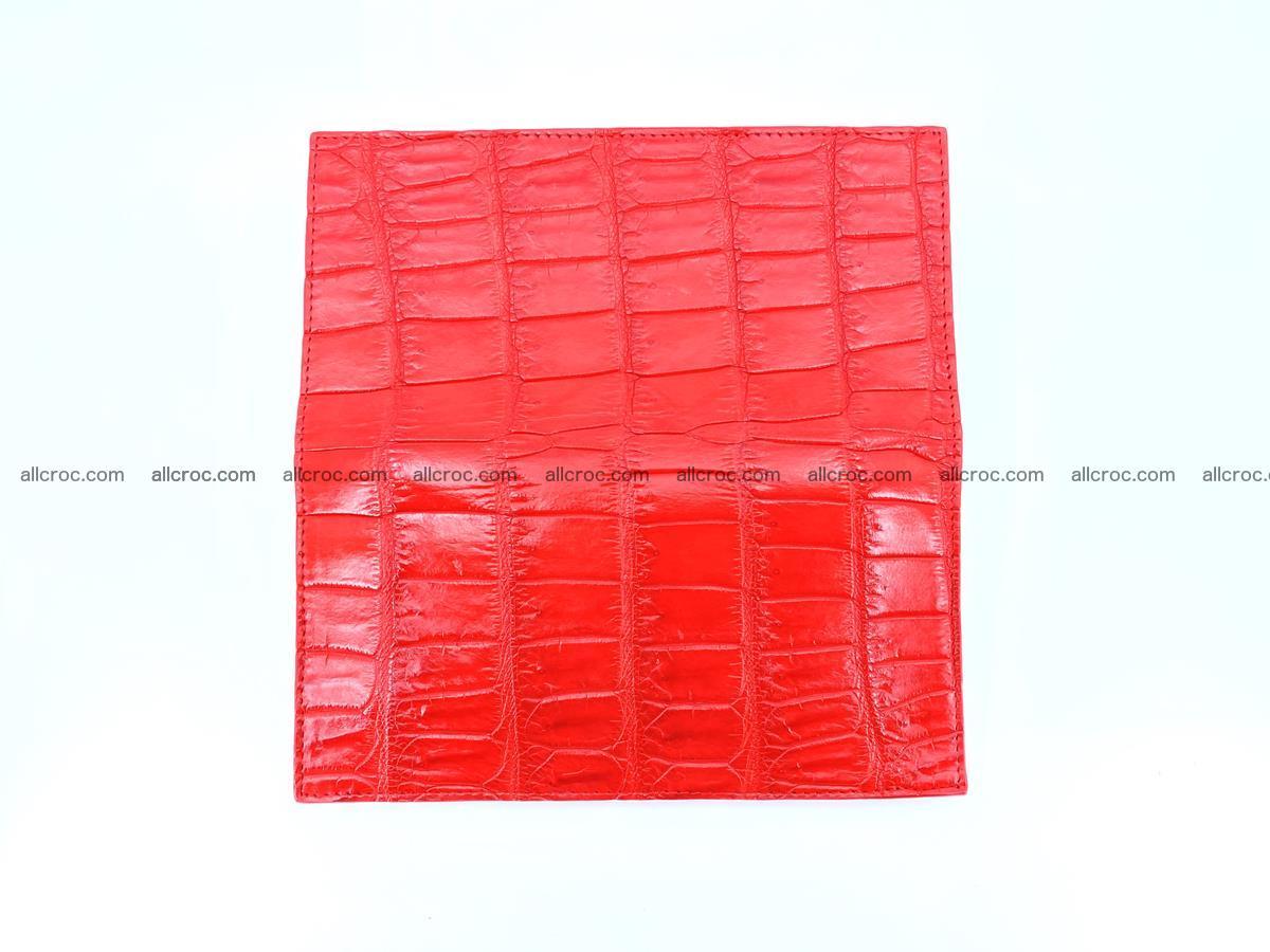 Crocodile skin wallet bifold 492 Foto 9
