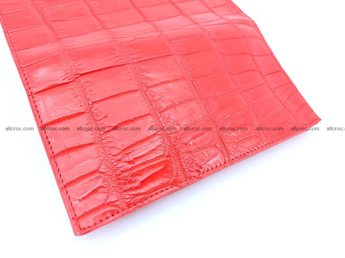Crocodile skin wallet bifold 492 Foto 10