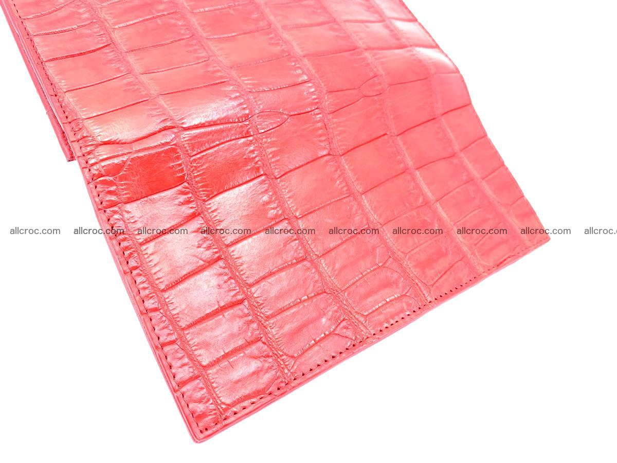 Crocodile skin wallet bifold 492 Foto 11