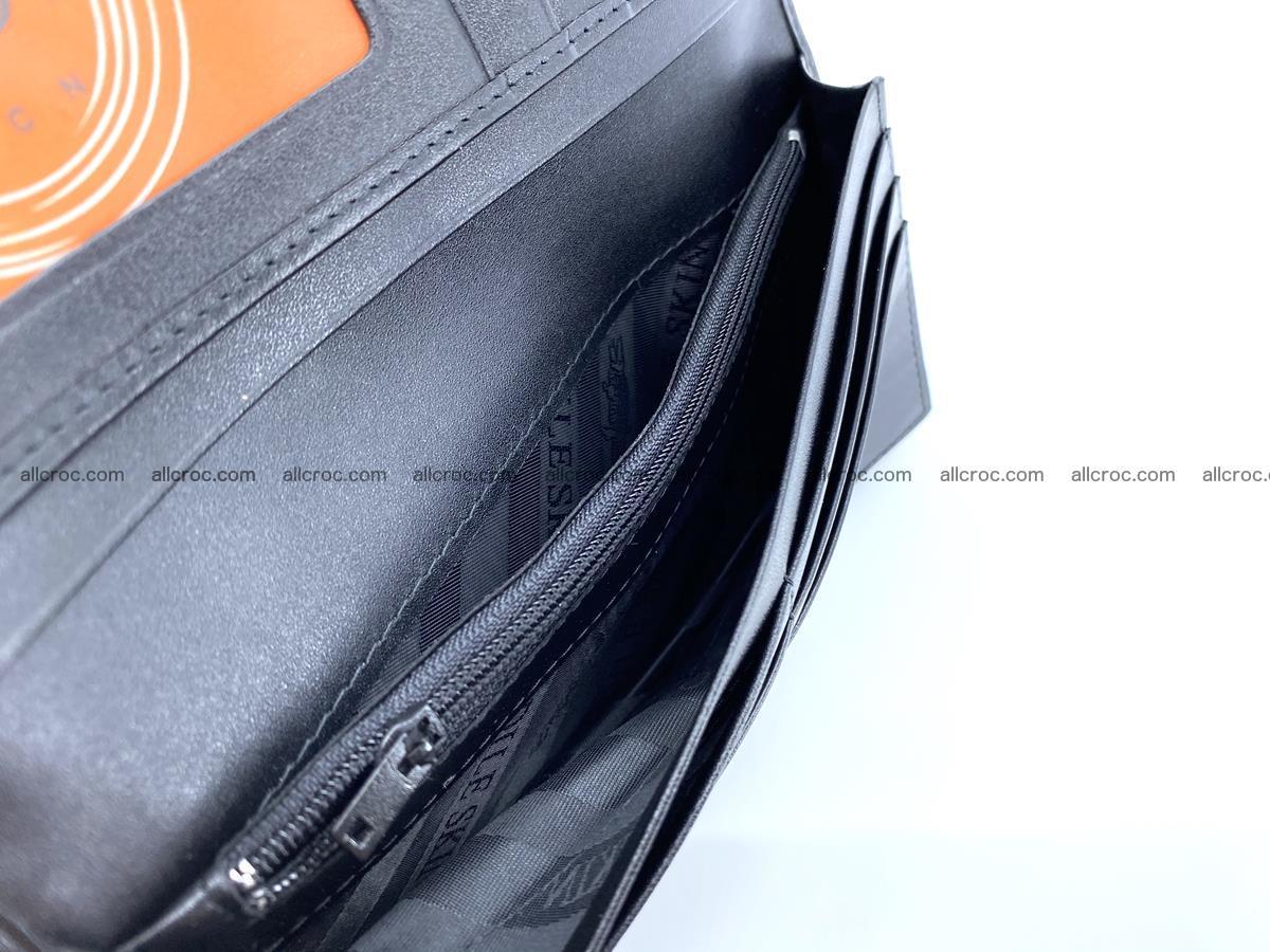 Crocodile skin long wallet bifold 487 Foto 15