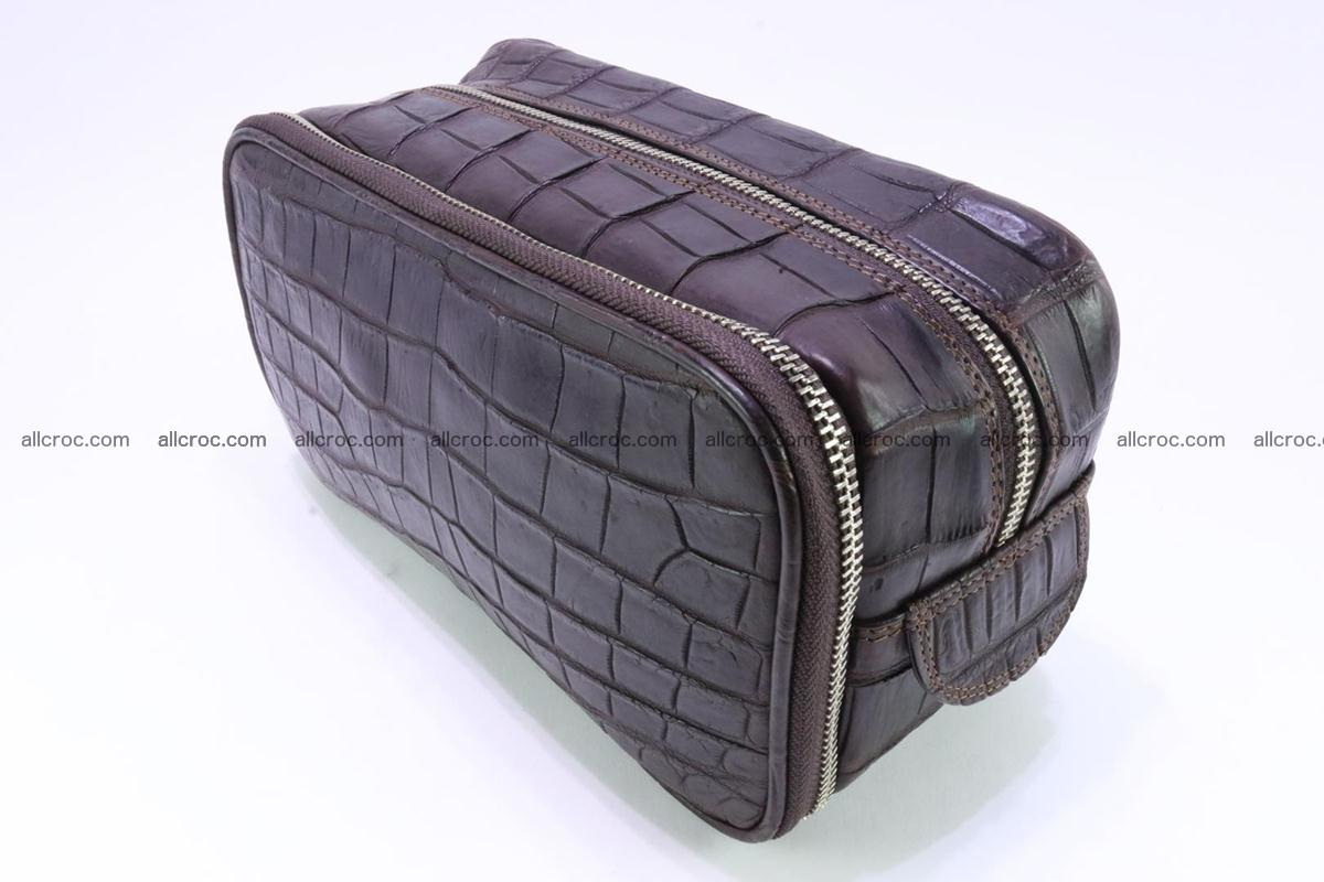Crocodile skin toiletry bag 363 Foto 1