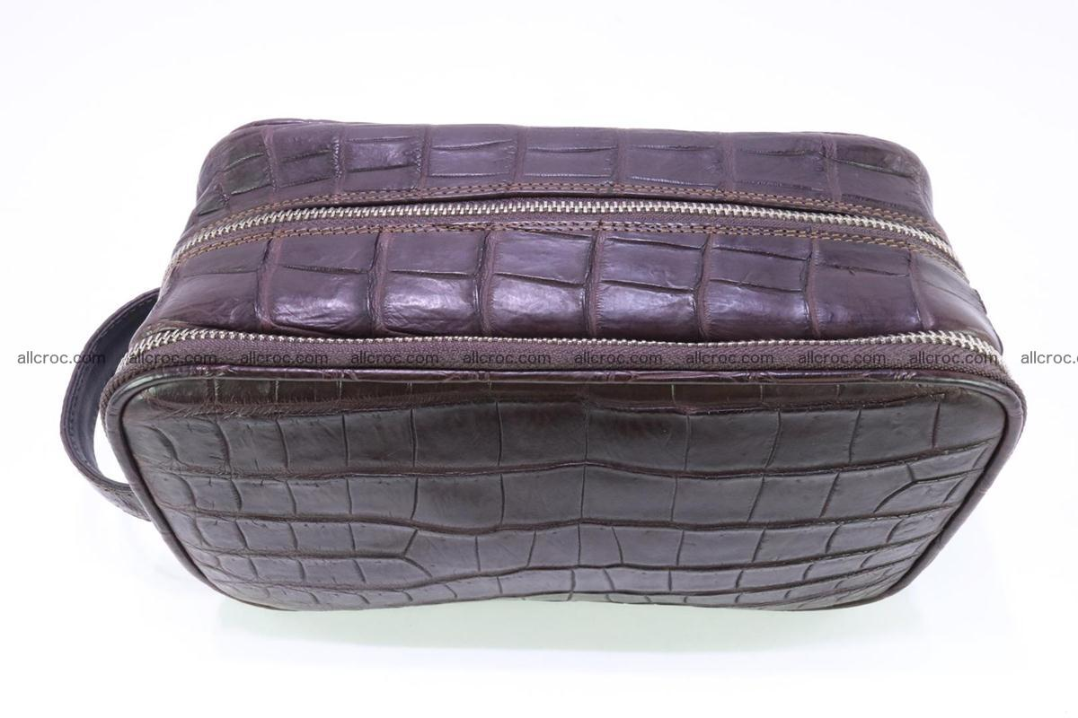 Crocodile skin toiletry bag 363 Foto 5