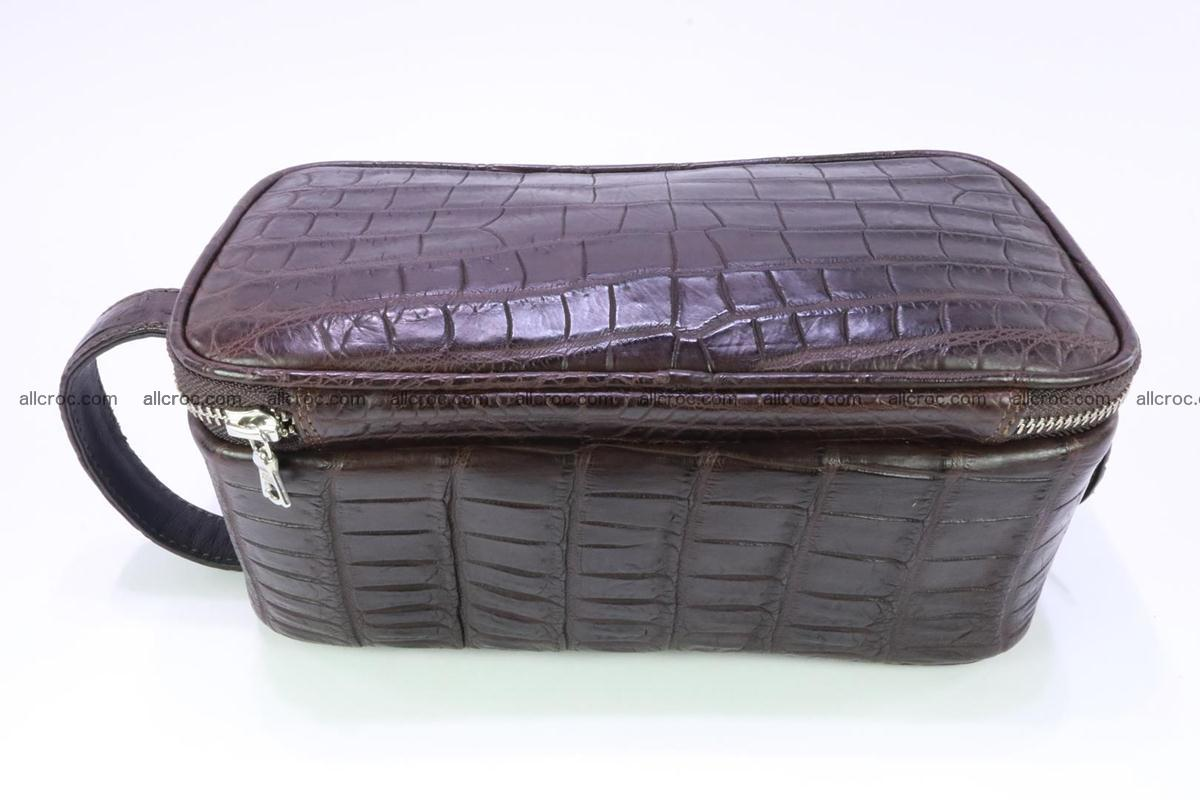 Crocodile skin toiletry bag 363 Foto 6