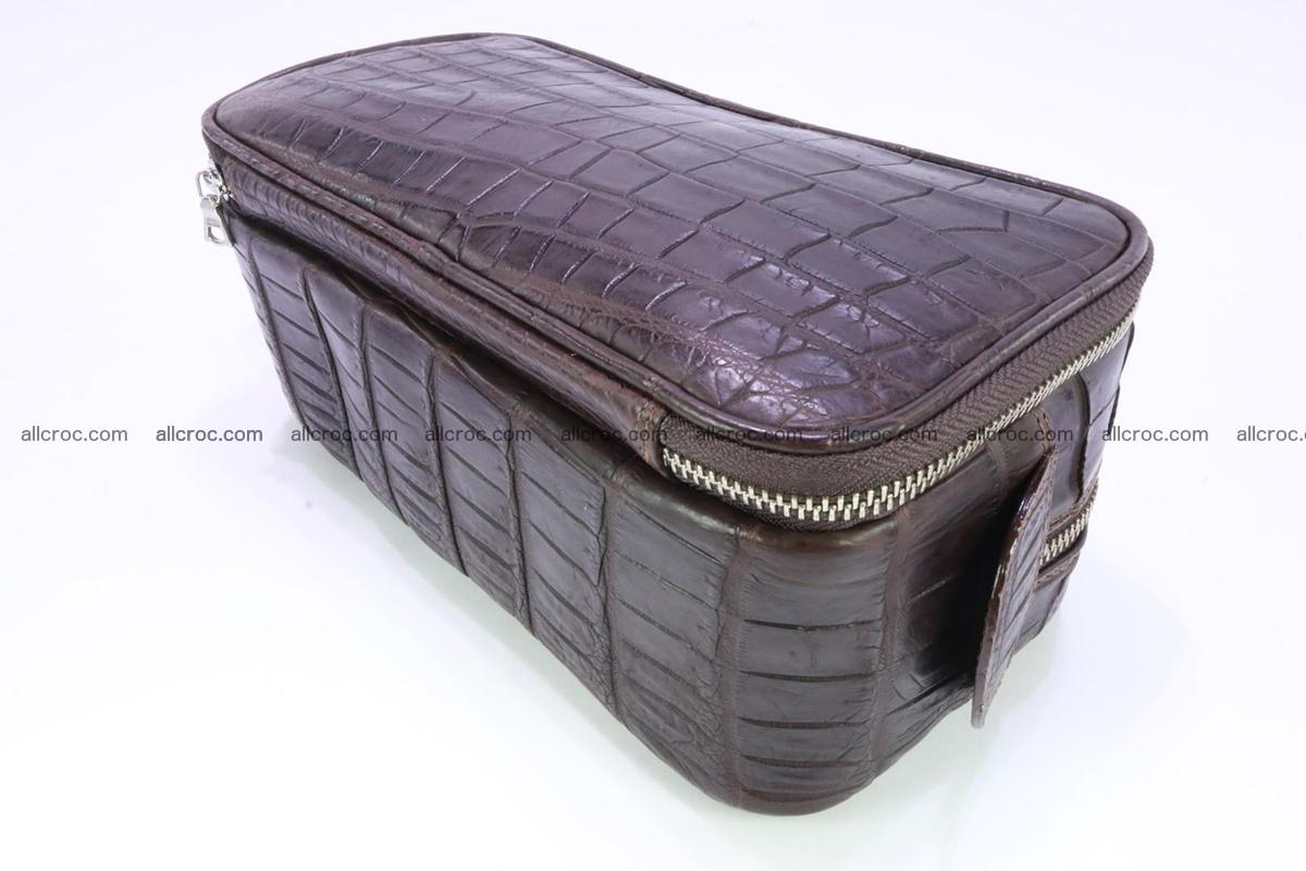 Crocodile skin toiletry bag 363 Foto 7