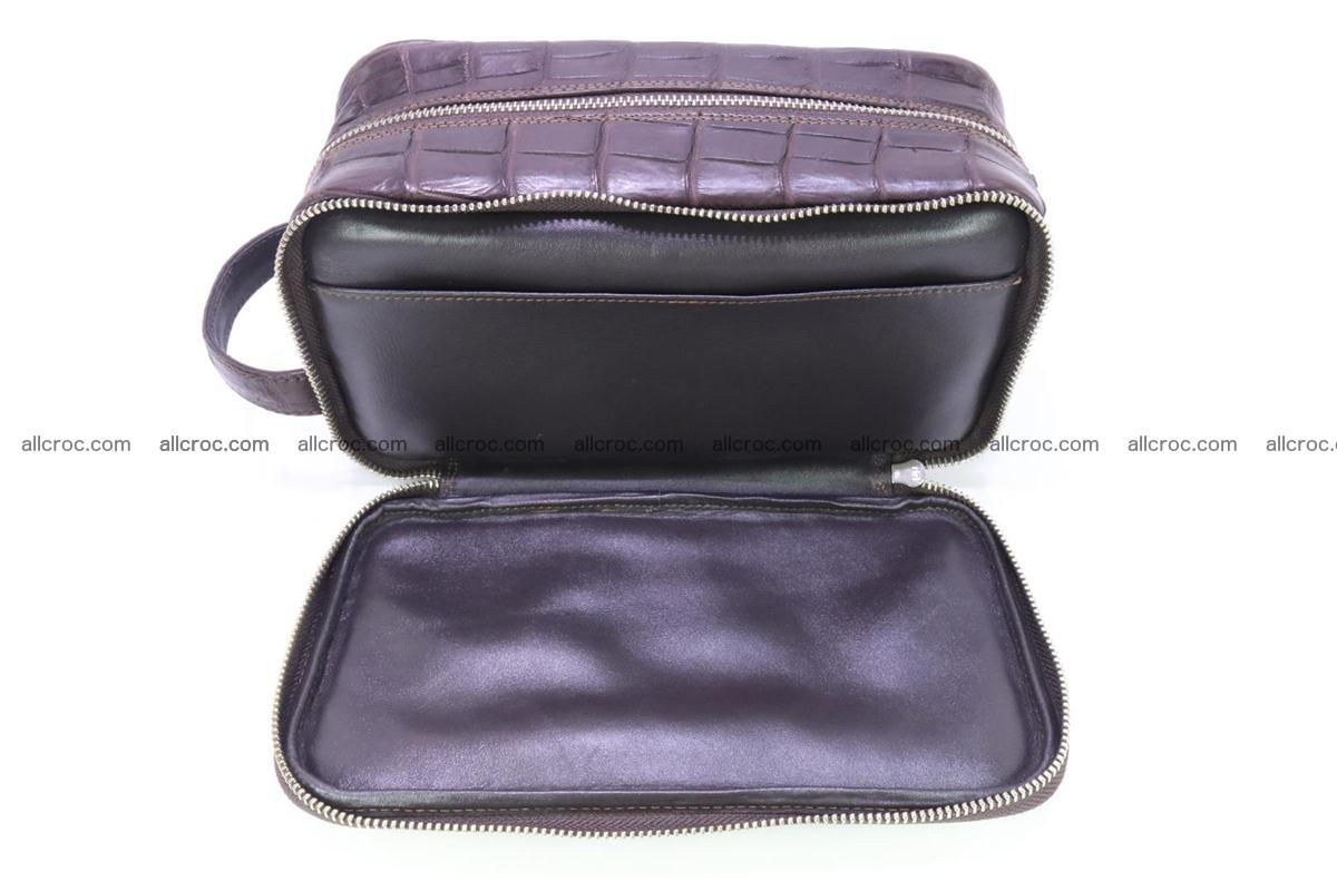 Crocodile skin toiletry bag 363 Foto 9
