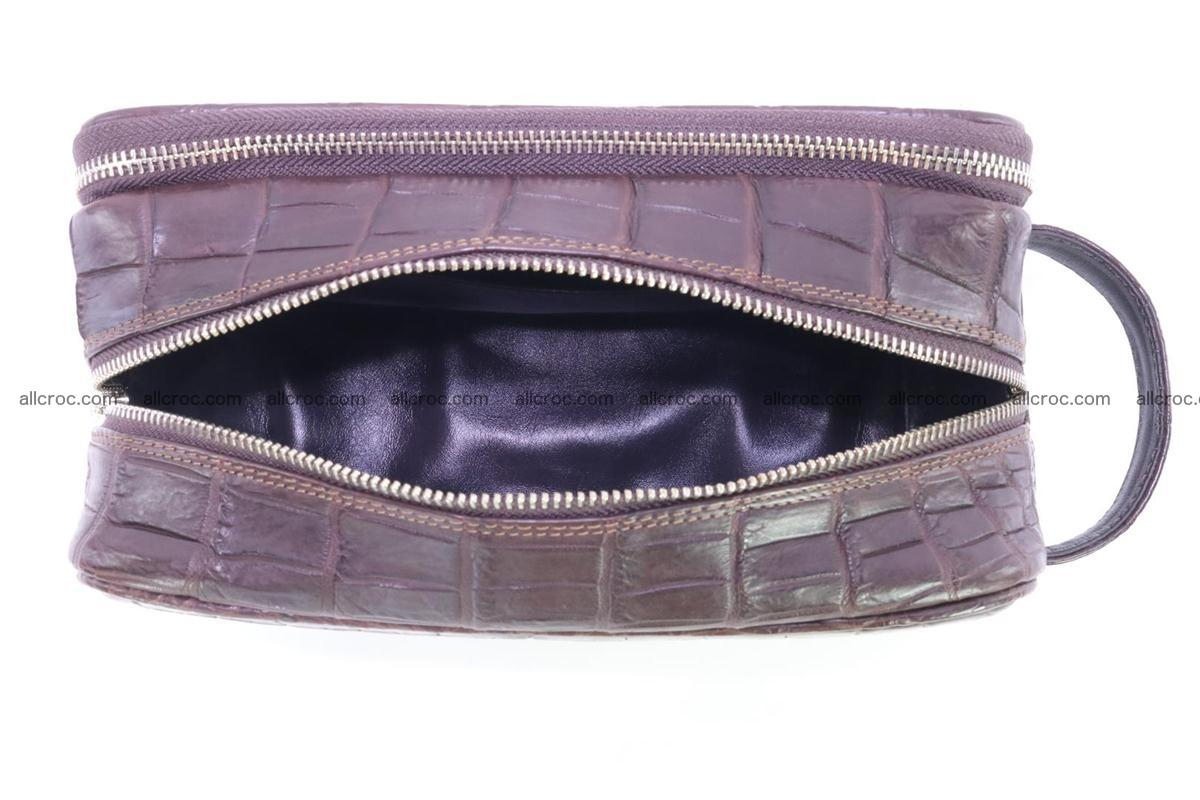 Crocodile skin toiletry bag 363 Foto 10