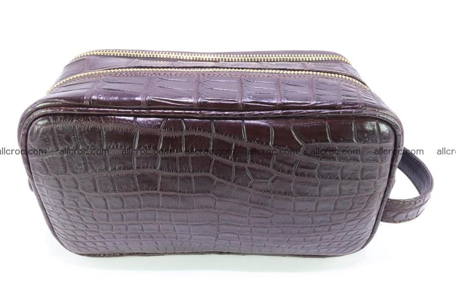 Crocodile skin toiletry bag 364