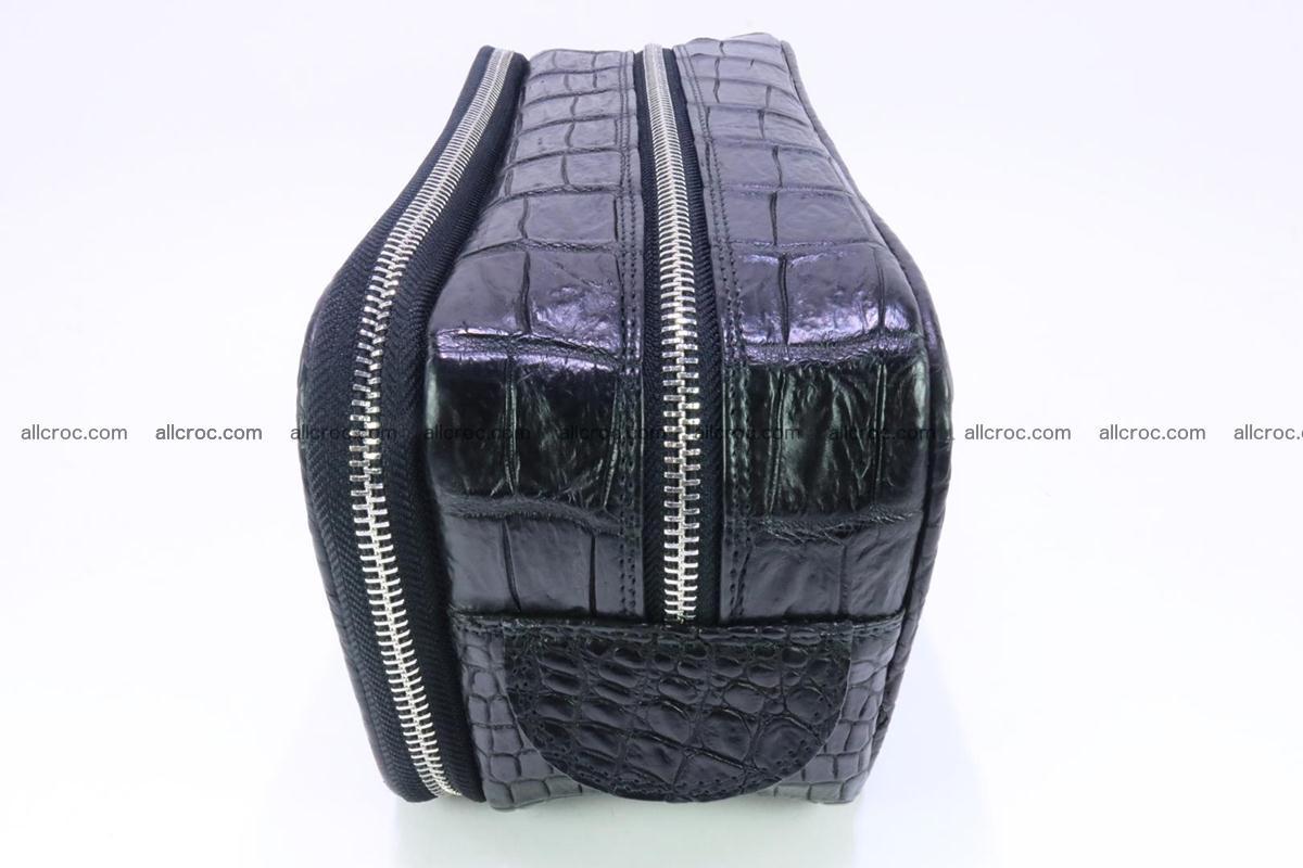 Crocodile skin toiletry bag 365 Foto 4
